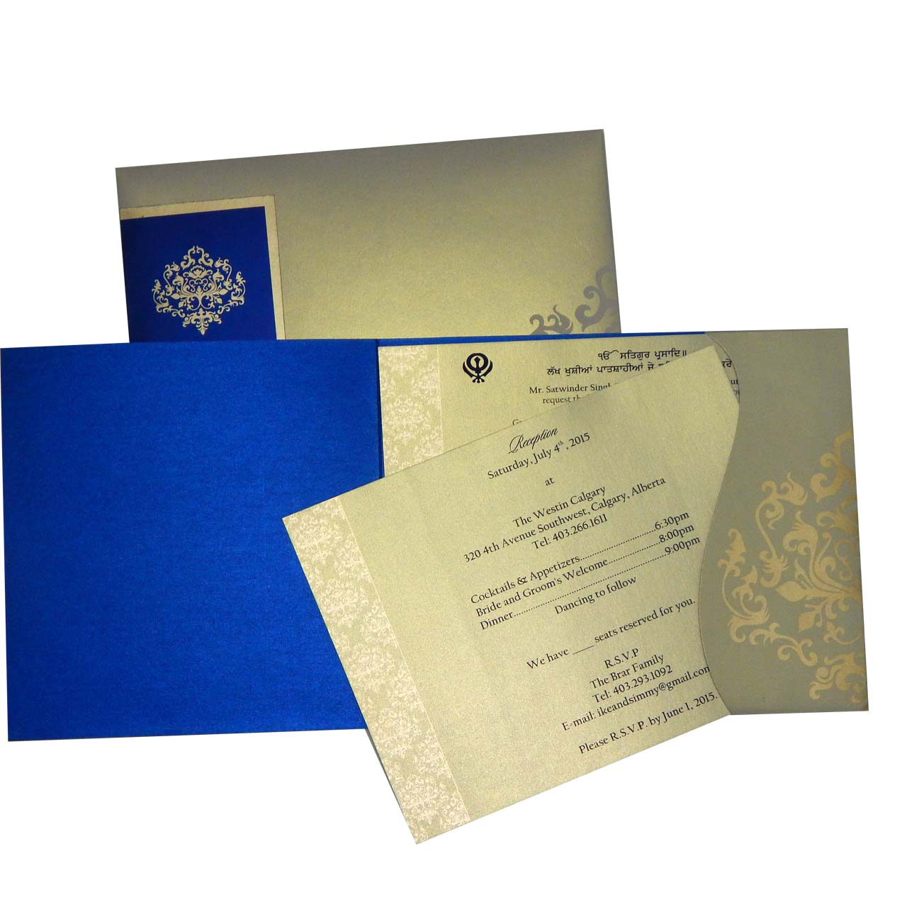 Wedding Invitation In Indian Style Indian Style Invitation Design
